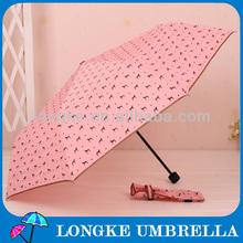 [FM3213]High quality 3 fold gift umbrella Dog print umbrella