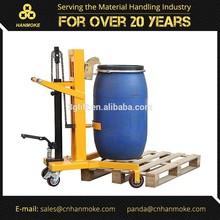 Portable cilindro macaco, 450kg. Capacidade, 600mm. Altura de elevação, hidráulica, para 55- galão tambores