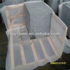 China g654 flamed brushed granite tile