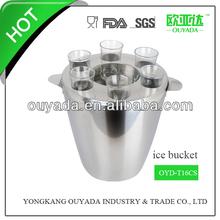 stainless steel ice metal bucket OYD-T16S