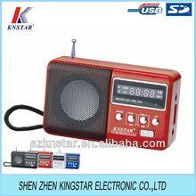 digital mini fm radio receiver mp3 player