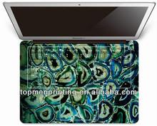 için tasarıma sahiptir macbook pro deri etiket çıkarılabilir macbook için çıkartmalar