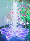 outdoor 3D led fountain lighting