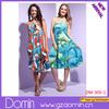 New Designer Knee-Length Off Shoulder Beautiful Lady Fashion Dress