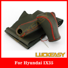 Facyory Supply Leather Steering Wheel Cover for Hyundai IX 35