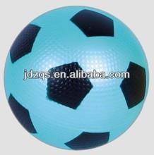 soccer ball/pvc toy sports ball -Light blue print black