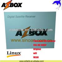 Made In China Internet+CA+CI+USB PVR WIF Receptor Azbox Premium HD Plus Azbox Bravissimo Wifi In Stock!