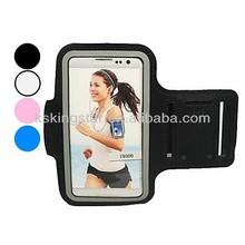 Neoprene sports armband case for samsung s5