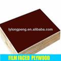 contreplaqué filmé logo couleur noir brown couleur rouge