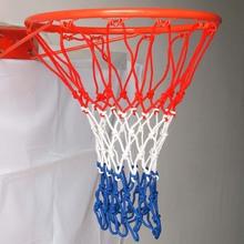 High quality three- colored nylon basketball nets /sport net