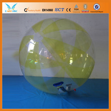 Inflatable water rolling ball