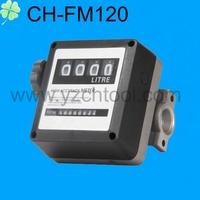 CH-FM-120 FM-120 4-Digit Mechanical Diesel Fuel Oil Flow Meter for metering diesel transfer pump