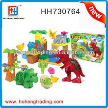 Plastic building blocks toys for preschool