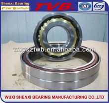 high quality steel cage angular contact ball bearing