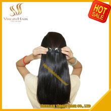 No tangle no shed unprocessed 100% human virgin remy vietnamese hair no mix short hair