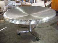 1000mm pan width rotary table conveyors