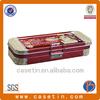 Metal decorative pencil tin box with lock chinese manufacturer