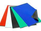 Flexible rubber magnet material