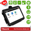 2014 hot sale 4.3 inch touch screen gps with 4GB memory installed latest map