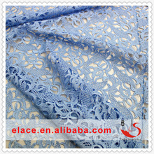 Light blue lace 2014 new embroidery flower evening dress simple lace saree blouse back neck designs