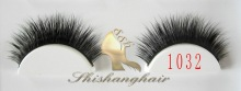 2012 new design mink fur eyelash with diamond