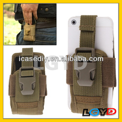 High quality Outdoor Nylon Pocket Pouch Sleeve Bag for iPhone 5 & 5S & 5C /for Samsung S IV cheap Pocket bag for iPhone 5