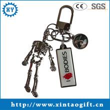 New arrival custom metal 3d keychain
