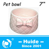 Ceramic Pet Food Bowl,lovely pet bowl