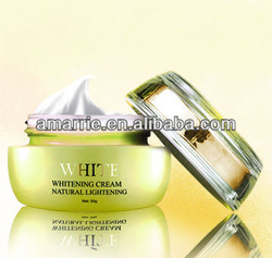 Anti-wrinkle and whitening cream peel chemical