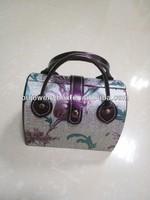 cheap beauty portable leather travel women's vanity case
