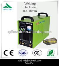Factory supply cheaper price AC/DC TIG/MMA weling machine 1ph TIG400