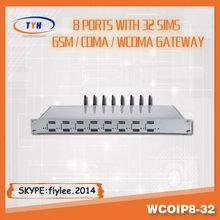 Wholesale 16,32,64 port VoIP GSM Gateway sms service provider..