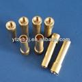 Para el procesamiento de dibujo/procesamiento de la muestra cabeza plana y redonda remaches de bronce hecha en china