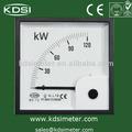 Universal industrial de ferro em movimento analógico wattmeter