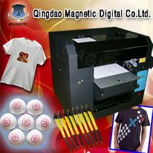 T-shirt/pen/plastic/textile/card mul-purpose printer flatbed