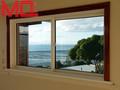 caliente venta de ventana corredera de pvc de estilo americano