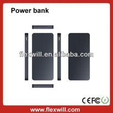 Flexwill slim power bank 10000mah Power Bank black/silver/blue/red