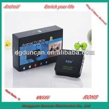 TV Box XBMC 1G RAM 8G ROM 1.5GHz Dual Cortex A9 Dual Mali400 GPU Built-in 32GB SD Card Slot, Wi-Fi 802.11b/g/n, 1920 x 1080P