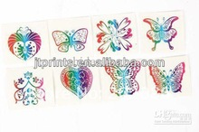 eco-friendly variety butterfly tattoo sticker