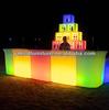 Led Night club Furniture,Color Changing Plastic Furniture