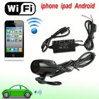 2014 NEW WIFI wireless rearview camera for cars work with iphone Android ipad