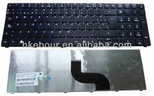 notebook keyboard For Acer Tm 8571 Spanish SP Black new ebour007