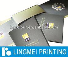 Color glue bind coloring book printing