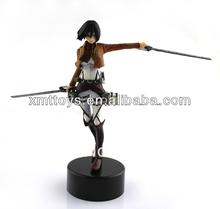 Titan Mikasa action figure,action sexy figure,japanese anime figure