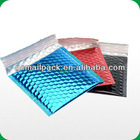 Premium Shockproof Metallic bubble mailer/ Jiffy bubble bags/Self seal Aluminized foil padded bubble envelope