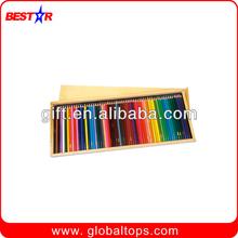 72pcs Color Pencil Set in Wooden Box