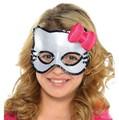 gato dos desenhos animados máscara para meninas