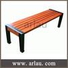Arlau FW216 indoor outdoor backless simple wooden bench