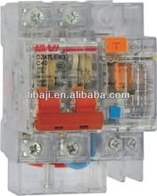 DZ47-63 earth leakage MCB C45 mini circuit breaker