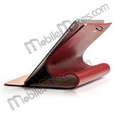Luxury Folio Genuine Leather Case for iPad 4 iPad 2 iPad 3